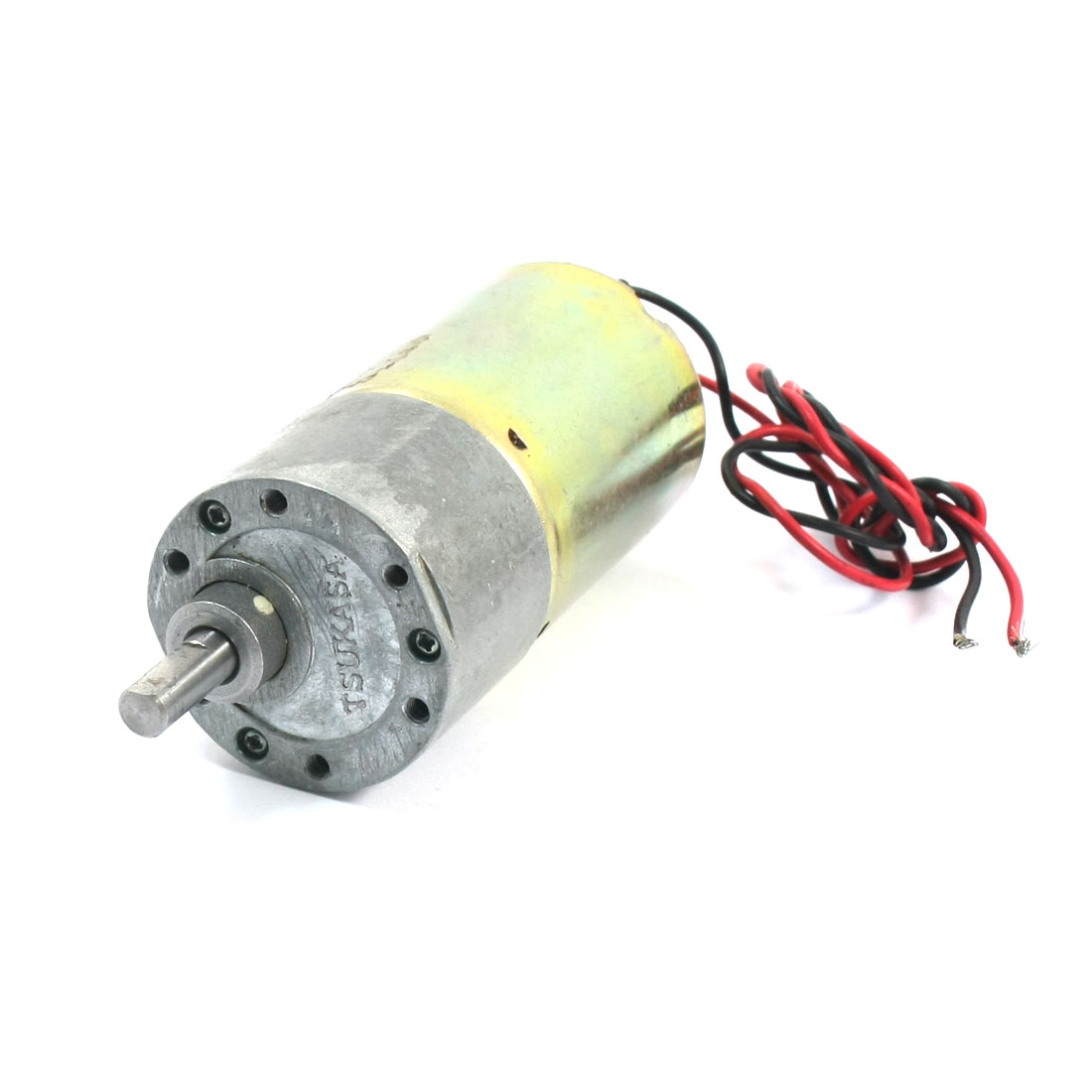 DIY Assembly 12V 140RPM High Torque Speed Reduce DC Geared Box Motor