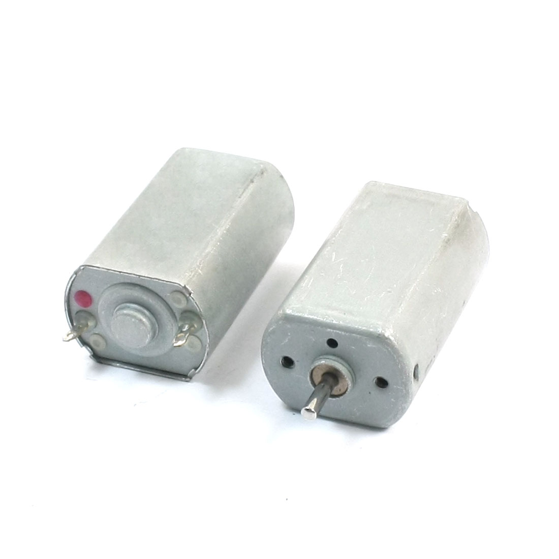 DIY Parts Metal Shell 12V 9000R/MIN 2mm Shaft Dia Miniature DC Motor 2pcs