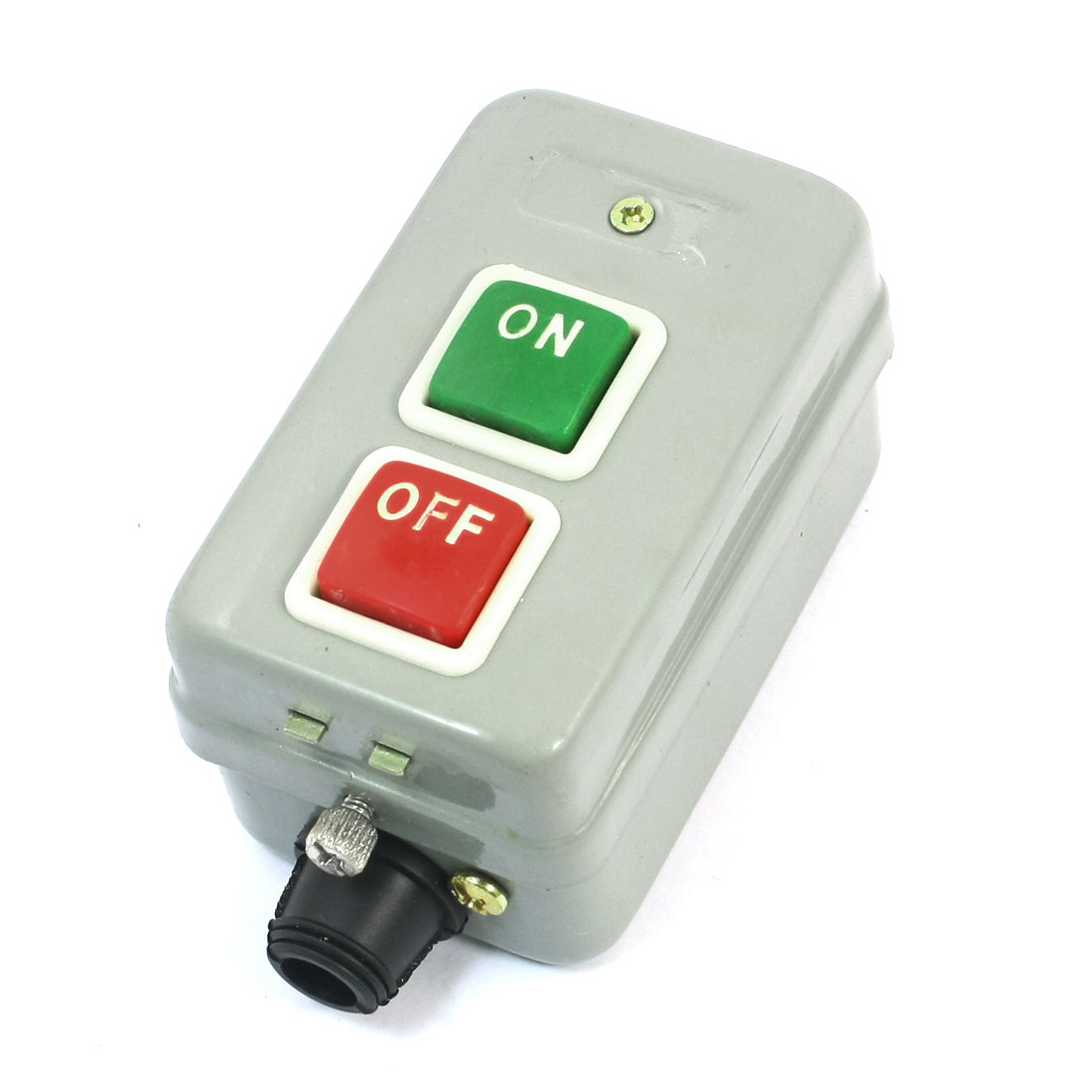 Hoist Crane ON/OFF Latching Control Station 3 Phase Power Push Button Switch