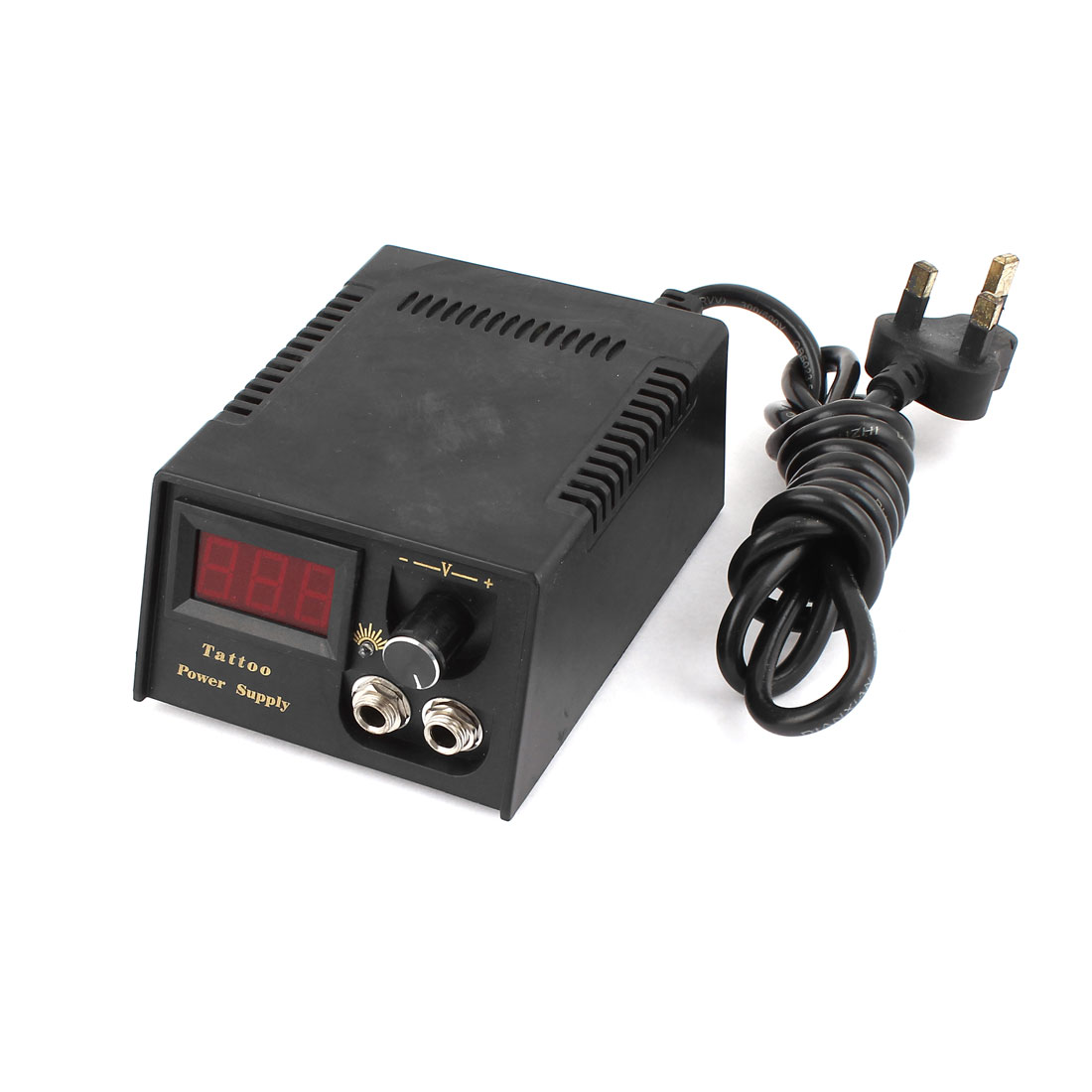AC 110-220V to DC 1.5-18V UK Analog Tattoo Machine Power Supply