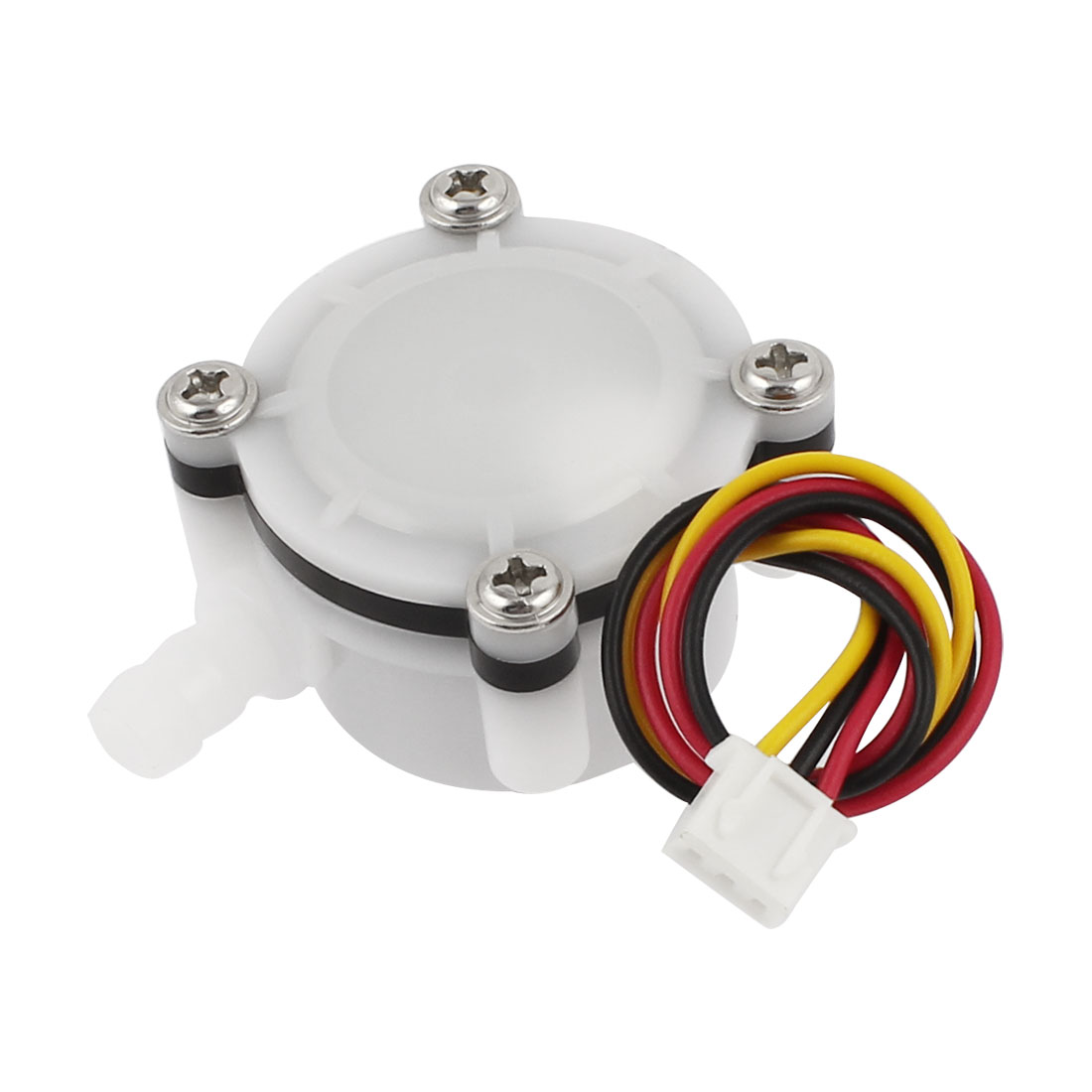 0.5-6L/min 0.8Mpa 6mm Connector Dia Water Flow Rate Sensor Flowmeter