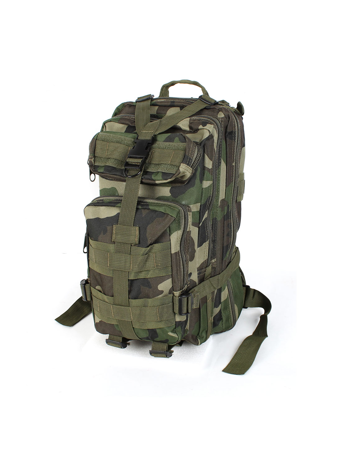 Military Tactical Dual Shoulder Strap Camouflage Oxford Cloth Hiking Backpack