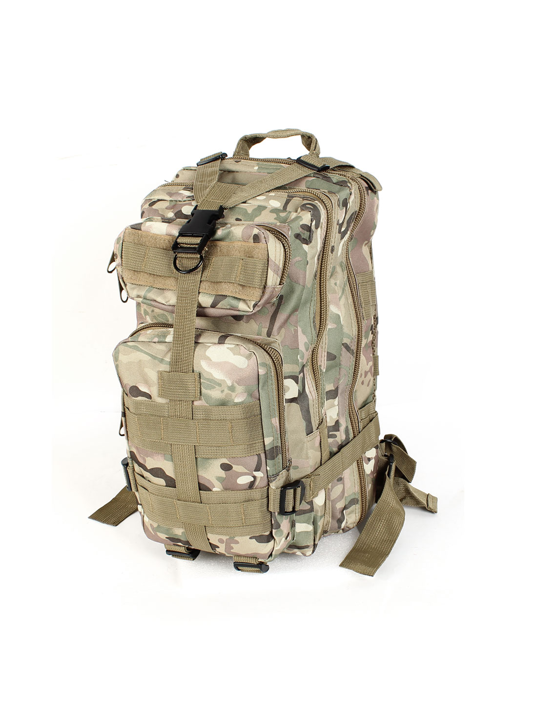 Unisex Military Tactical Camouflage Oxford Cloth Outdoor Hiking Camping Backpack