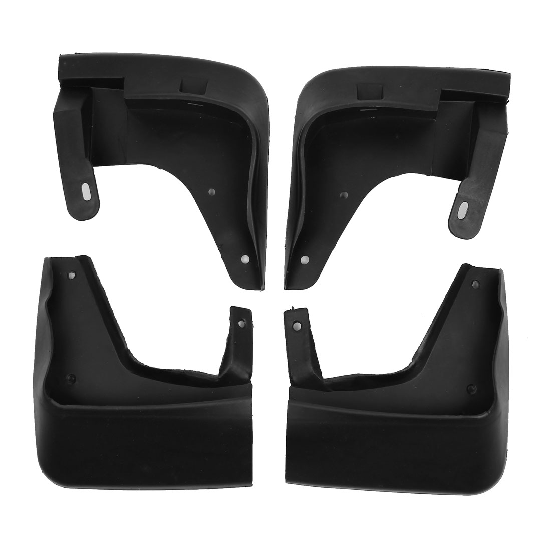 Car Shield Splash Guards Mud Flap Front Rear Set Assembly 4 in 1 86840-3D000 for Sonata