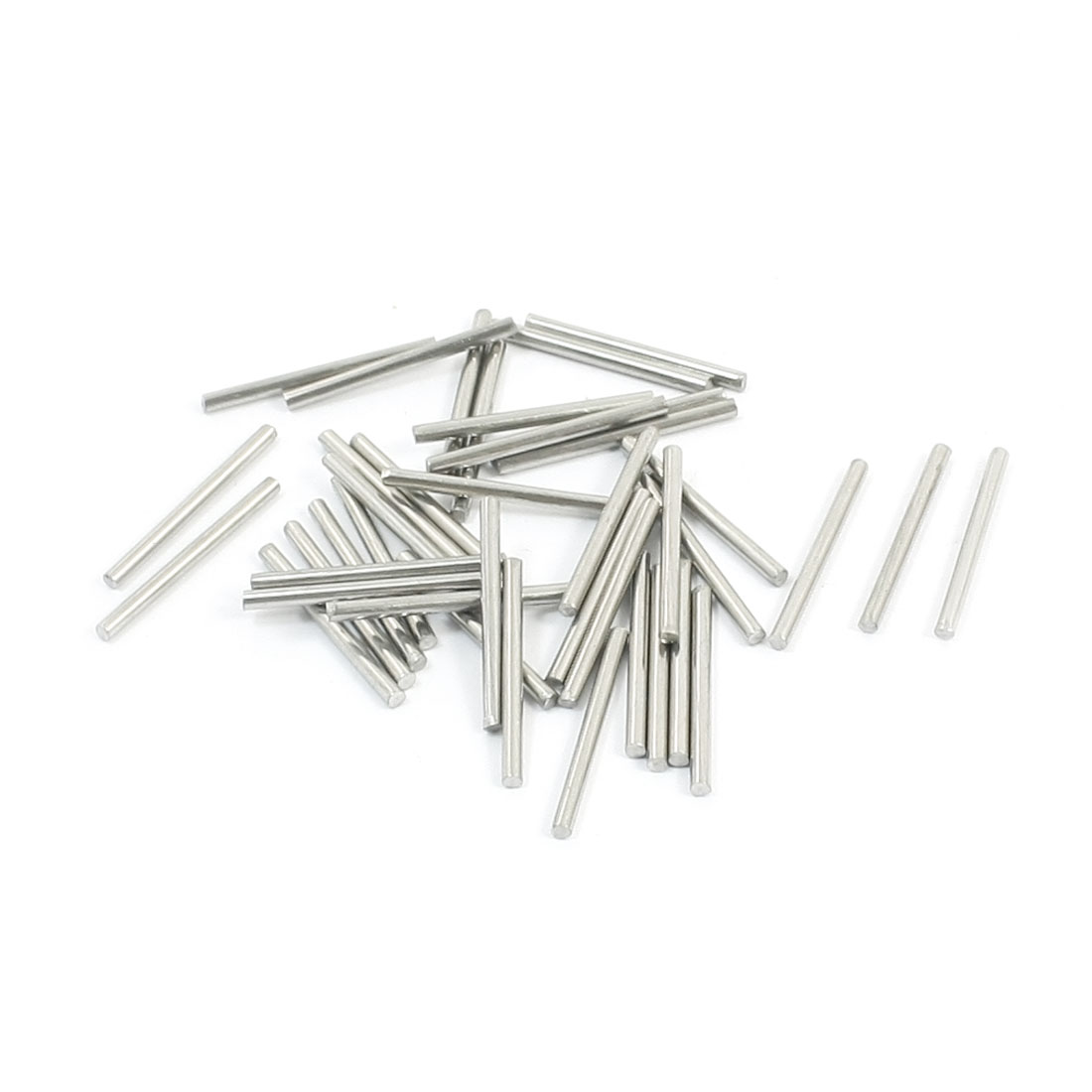 40Pcs 1.6mm Diameter Stainless Steel Motion Axle Circular Round Rod Bar 20mm Long