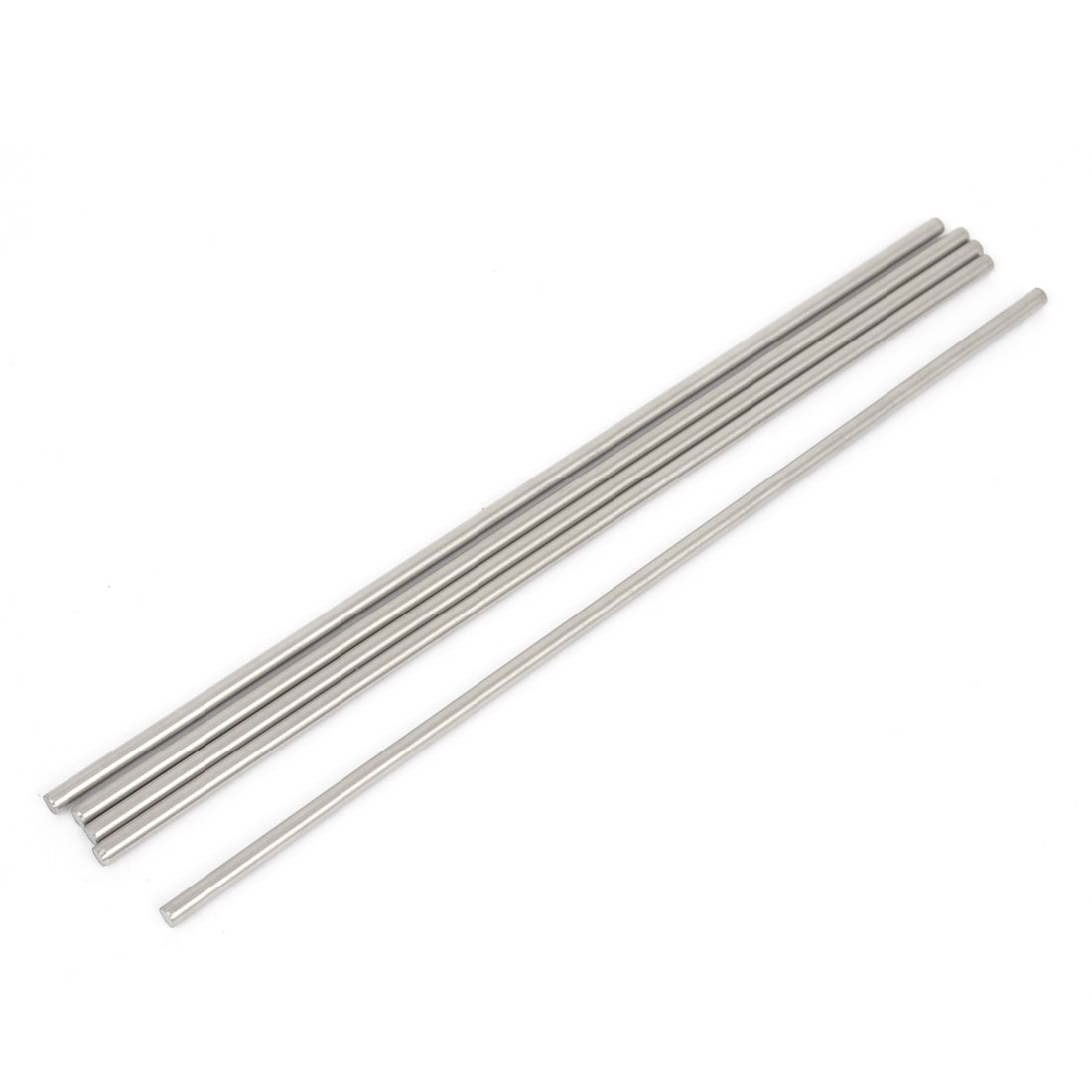 5 Pcs 3mm Dia 16cm Long Stainless Steel RC Helicopter Transmission Round Rods