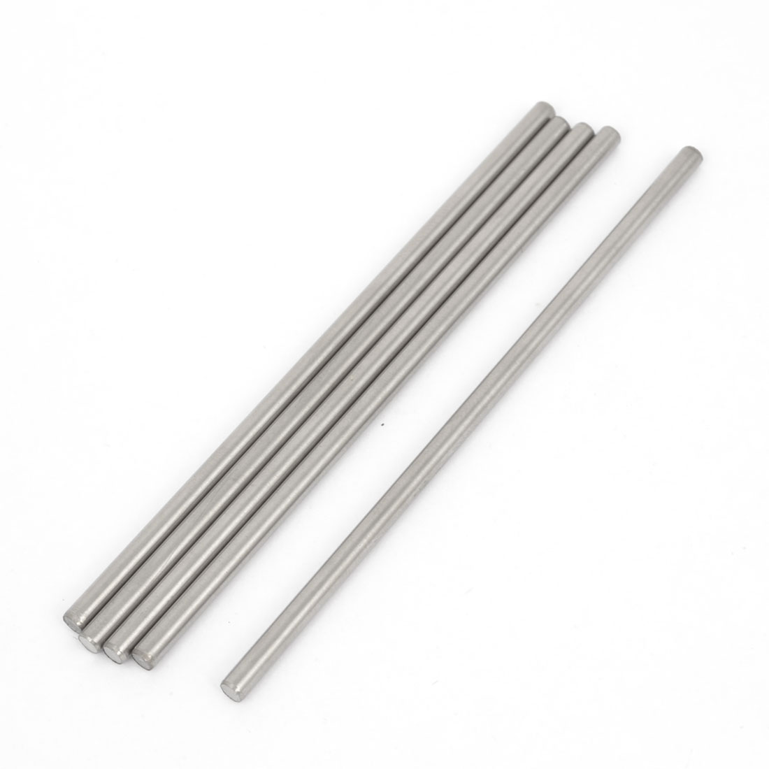 5pcs RC Car Toy Stainless Steel Straight Round Rods Shafts Replacement 3mmx90mm