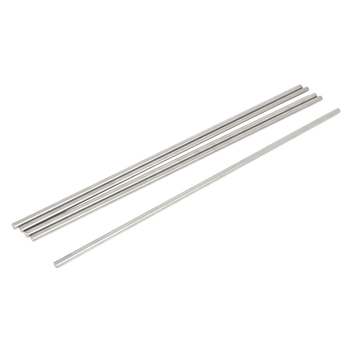 5 Pcs 3mm Dia 14.5cm Long Stainless Steel RC Helicopter Transmission Round Rods