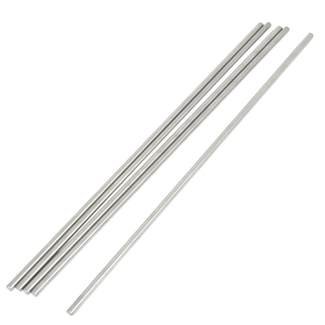 5 Pcs RC Airplane Model Part Stainless Steel Round Rods Axles Bars 3mm x 190mm