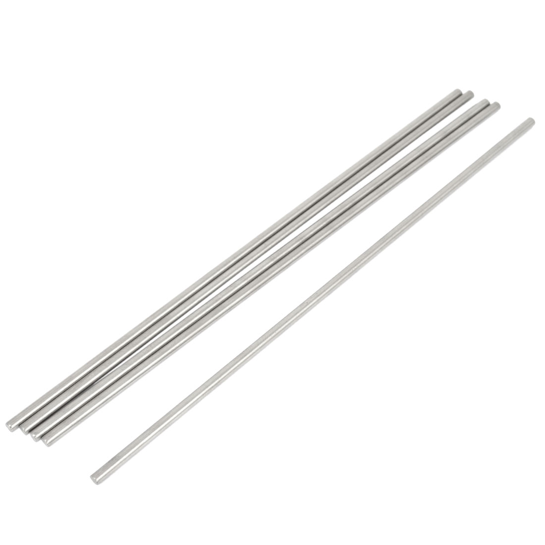 5 Pcs 3mm Dia 17cm Long Stainless Steel RC Helicopter Transmission Round Rods