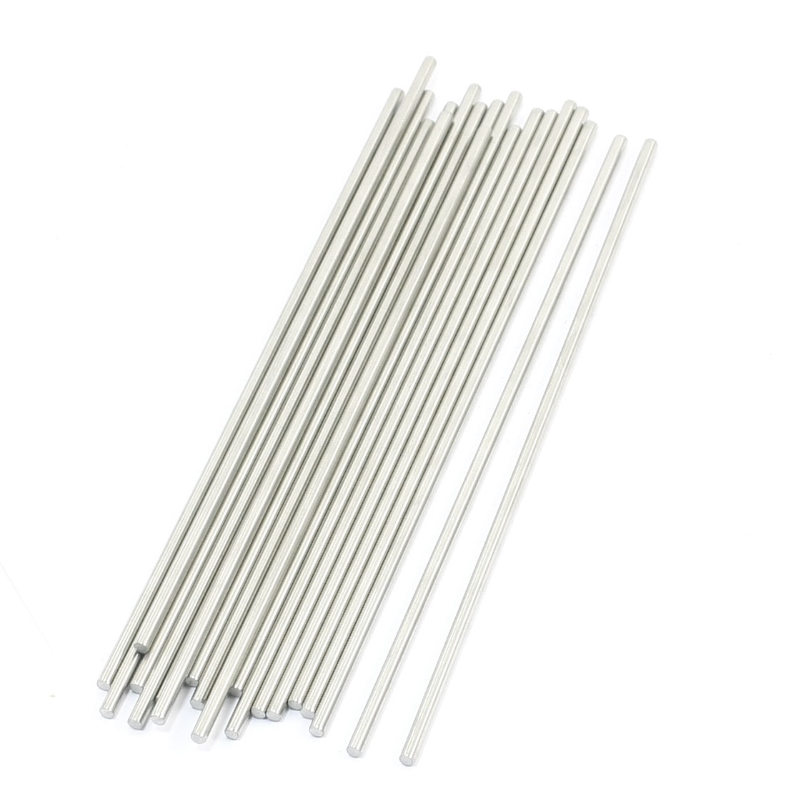 20 Pcs RC Toy Car Model Part Stainless Steel Round Rods Axles 3mm x 160mm
