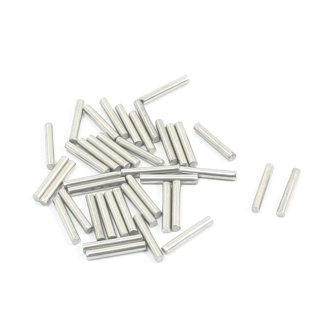 40 Pcs RC Toy Car Model Part Stainless Steel Round Rods Axles 1.6mm x 10mm