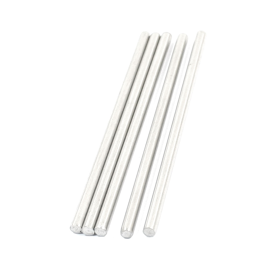 5Pcs RC Toy Car Model Part Stainless Steel Round Rods Axles 3mm x 70mm