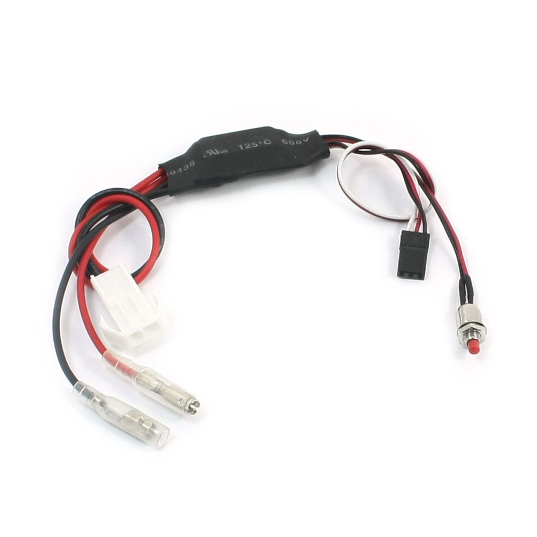RC 30A BEC 5V Brushed ESC Speed Controller Lipo Battery 7.2V-12V