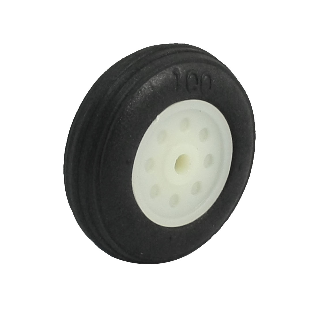 "DIY RC Airplane Plastic Hub 1"" Diameter Foam Tire PU Wheel"
