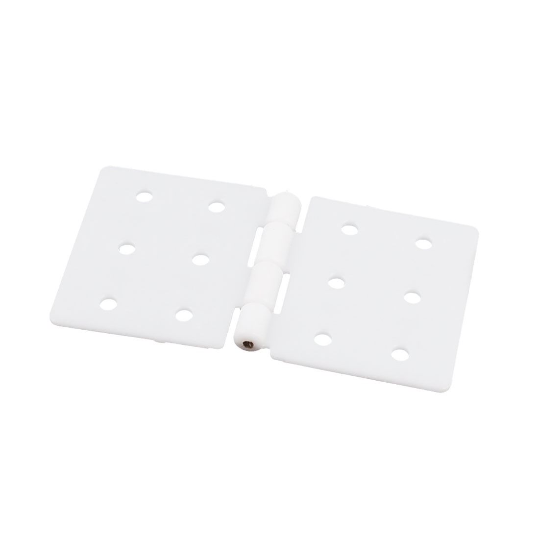 Large RC Aircraft Foldable White Plasitc Pinned Hinges 37 x 20mm