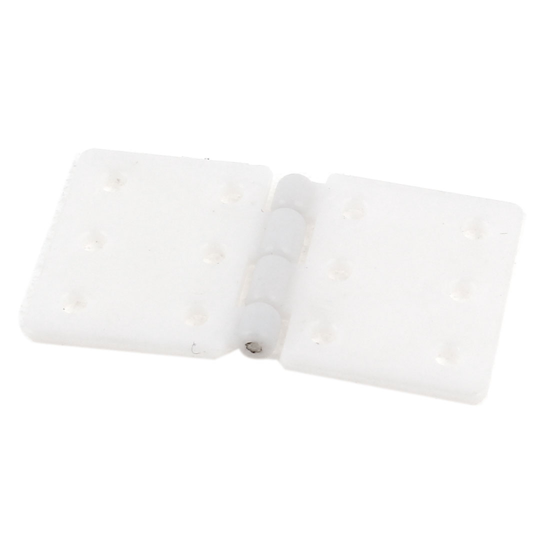 Small RC Aircraft Foldable White Plasitc Pinned Hinges 28 x 16mm