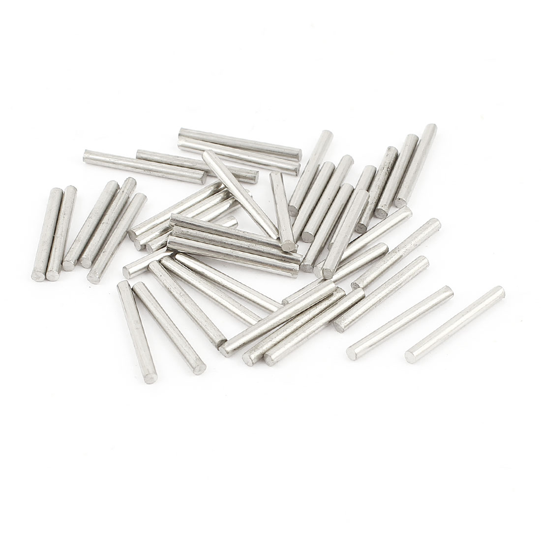 40Pcs 1.6mm Diameter Stainless Steel Motion Axle Circular Round Rod Bar 15mm Long