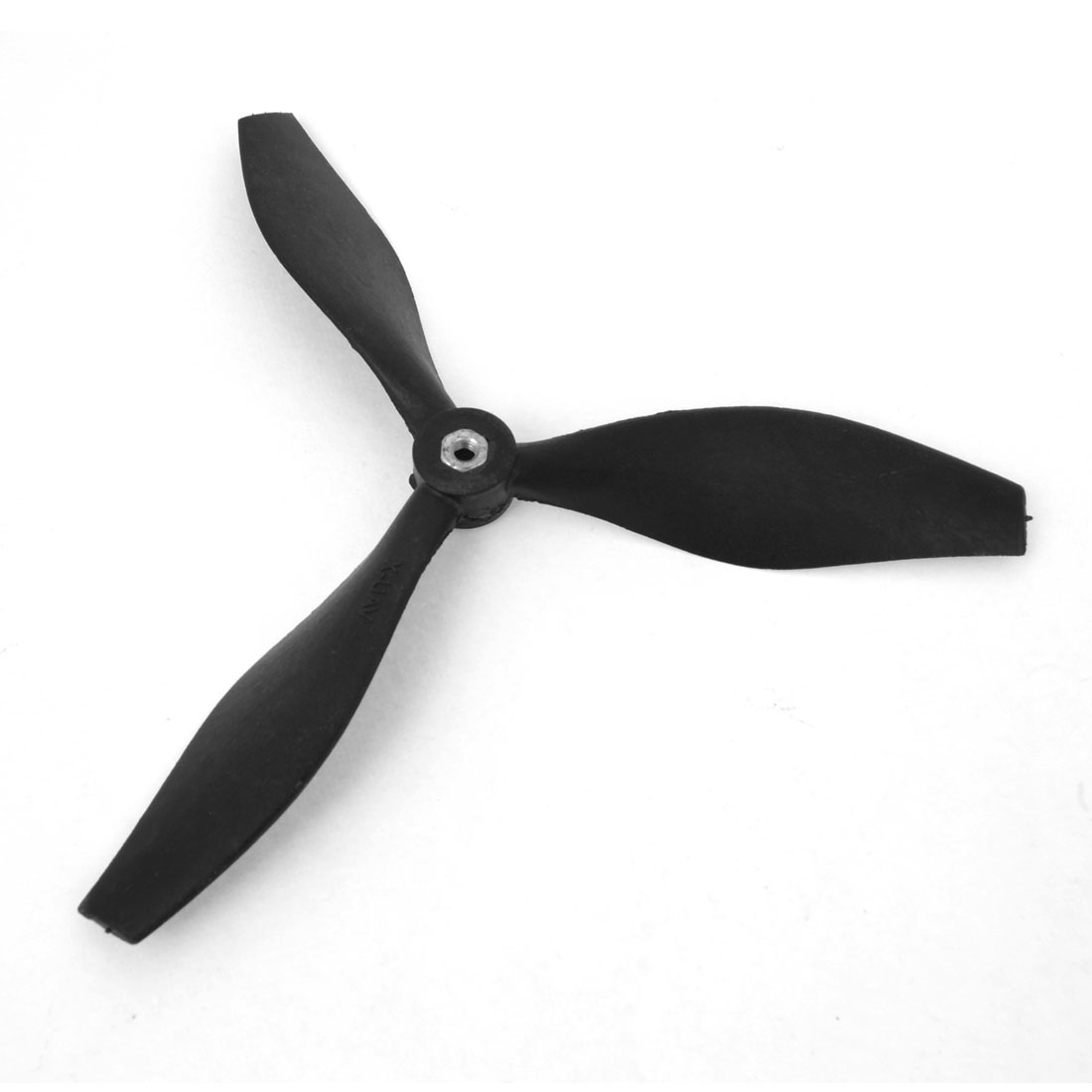 Black 5x5 3-Vanes Prop Propeller for 2.5mm Shaft Dia RC Model Plane Aircraft