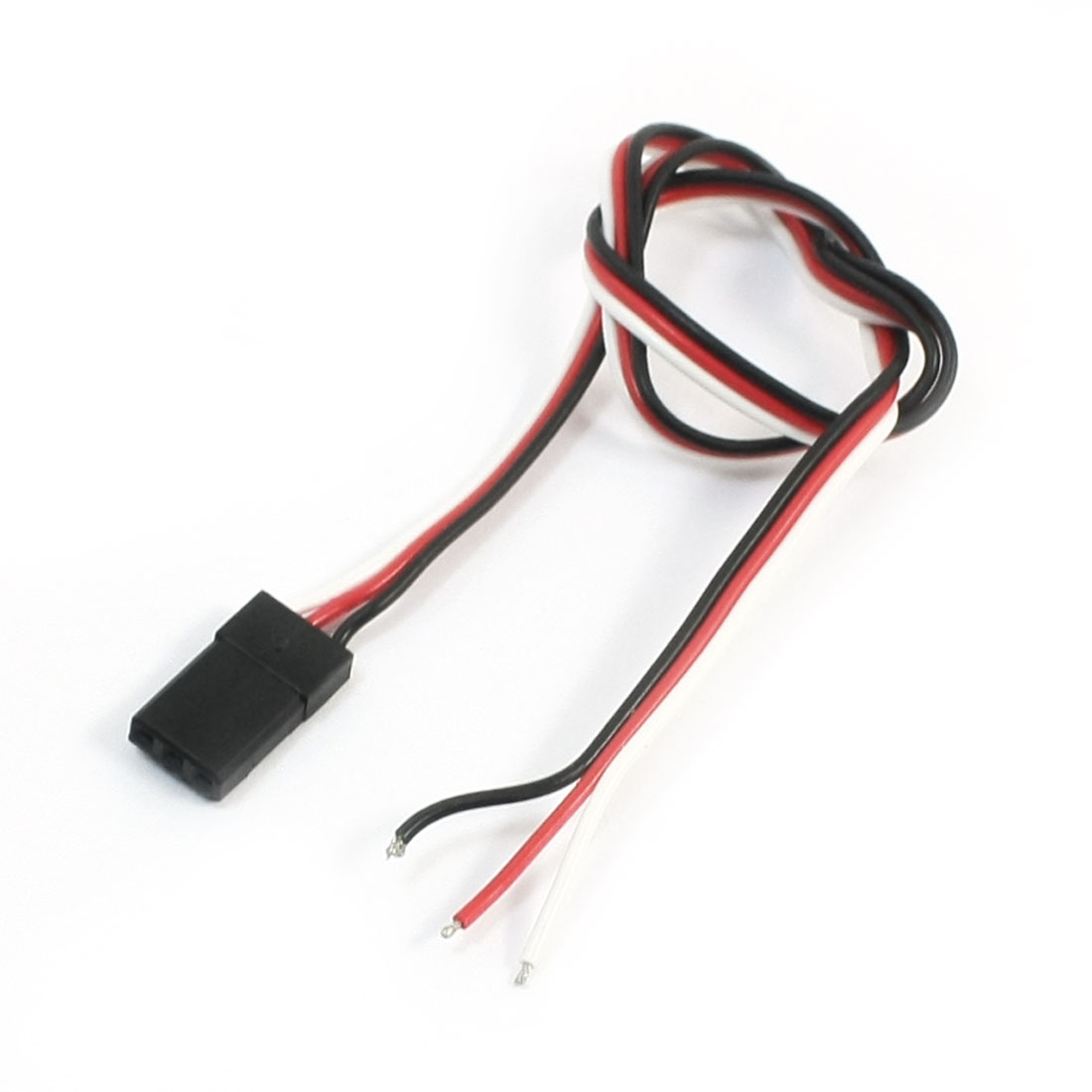 Male J Connector Servo Extension Lead Wire Cable for RC Air Plane 300mm Long