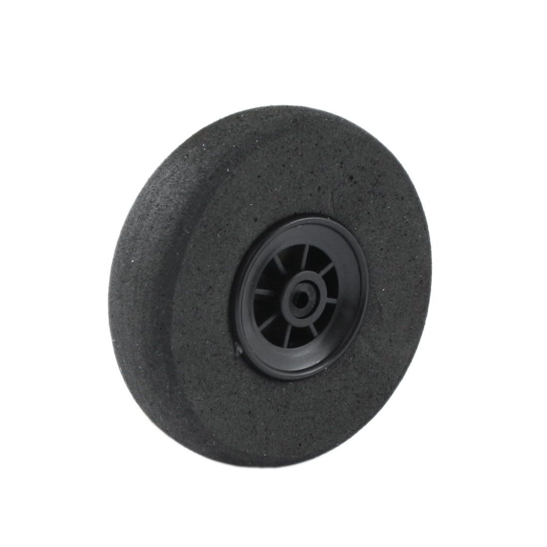 Black Foam Wheel 40mm Dia Spare Part for RC Aircraft Model Toy