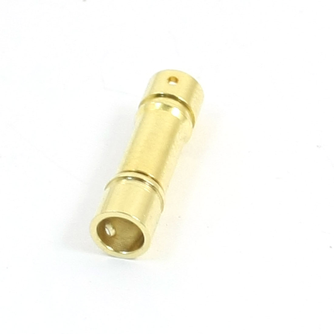 Pair RC Airplane Plane Aircraft 4mm Gold Tone Banana Male Female Plug Connector Adapter Set