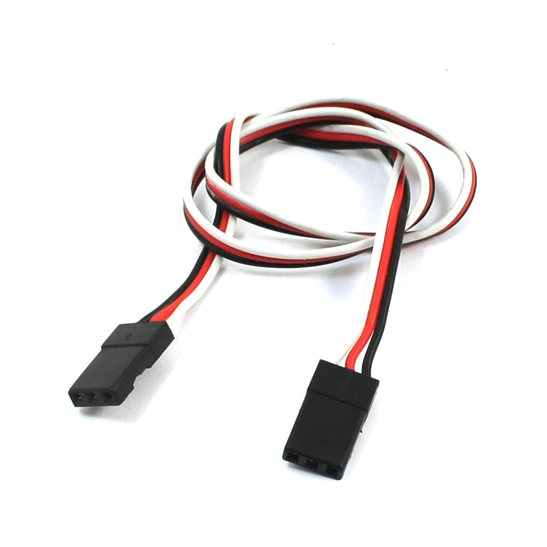 Male to Male J Connector Servo Extension Lead Wire Cable for RC Air Plane 300mm Long