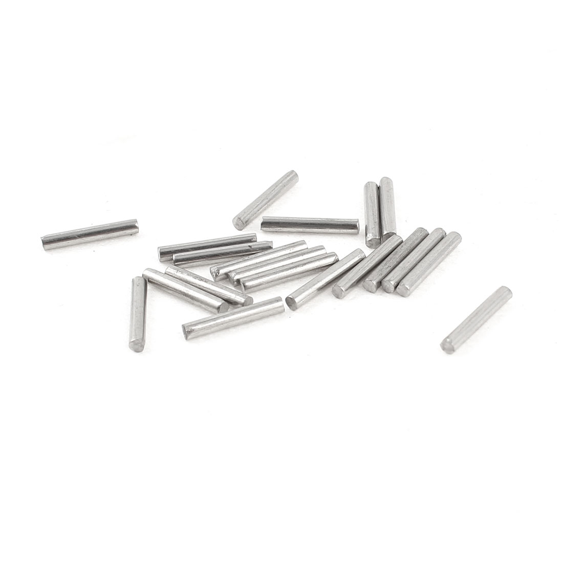 20Pcs 1.6mm Diameter Stainless Steel Motion Axle Circular Round Rod Bar 10mm Long