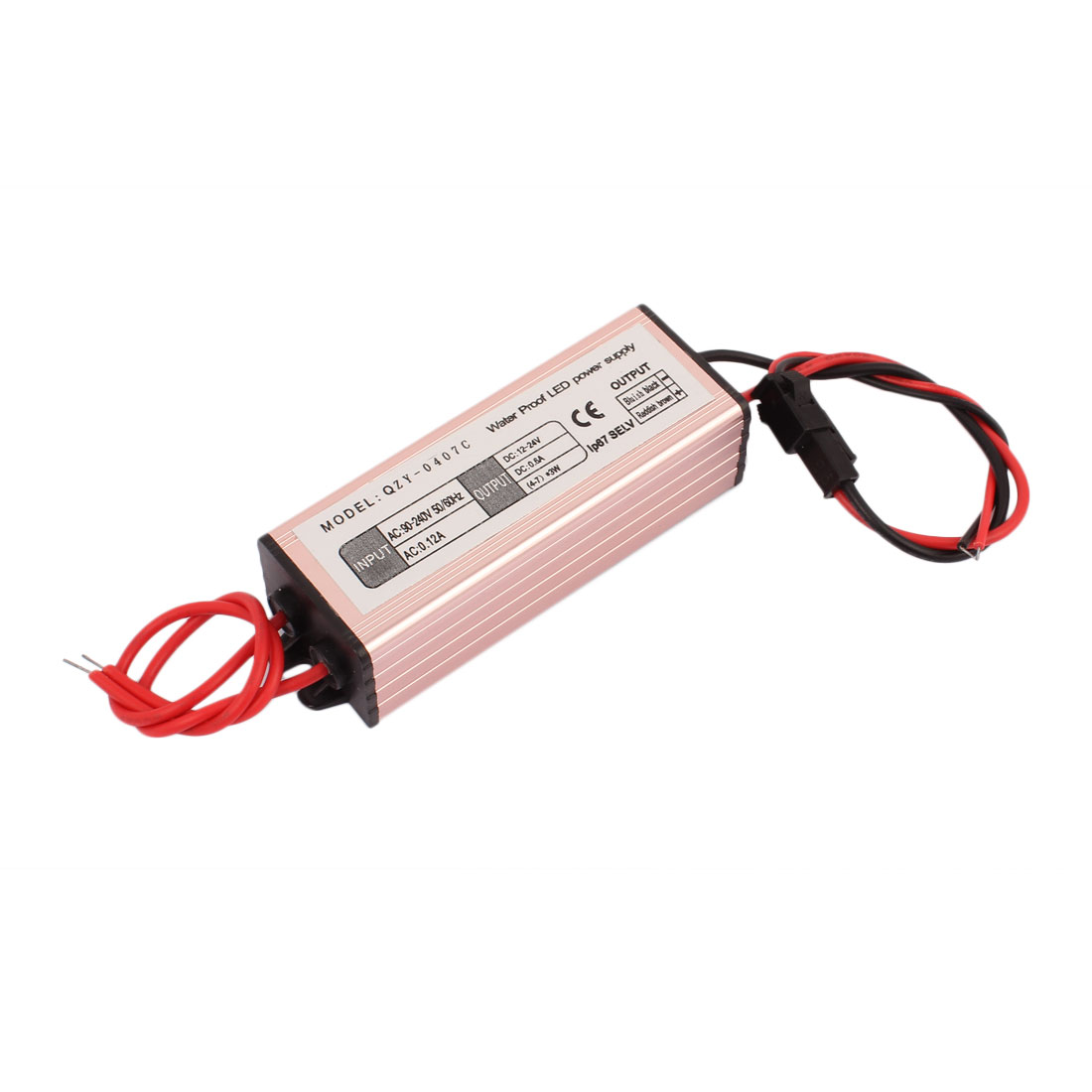 AC 90-240V 0.12A to DC 12-24V 0.6mA (4-7)X3W LED Driver Power Supply Converter Adapter