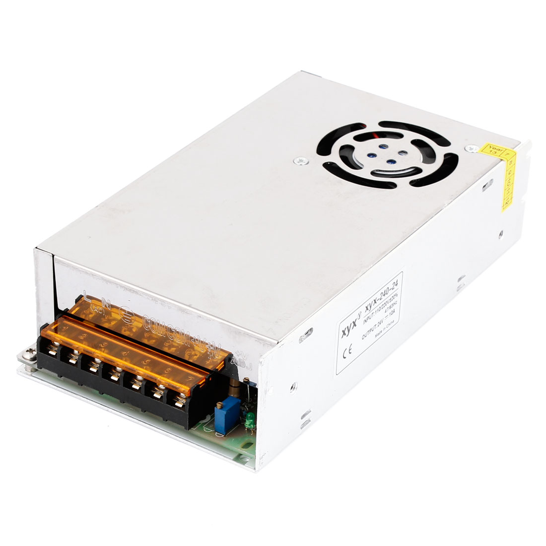 AC110/220V DC24V 10A Metal Switch Power Supply Driver for LED Strip Light
