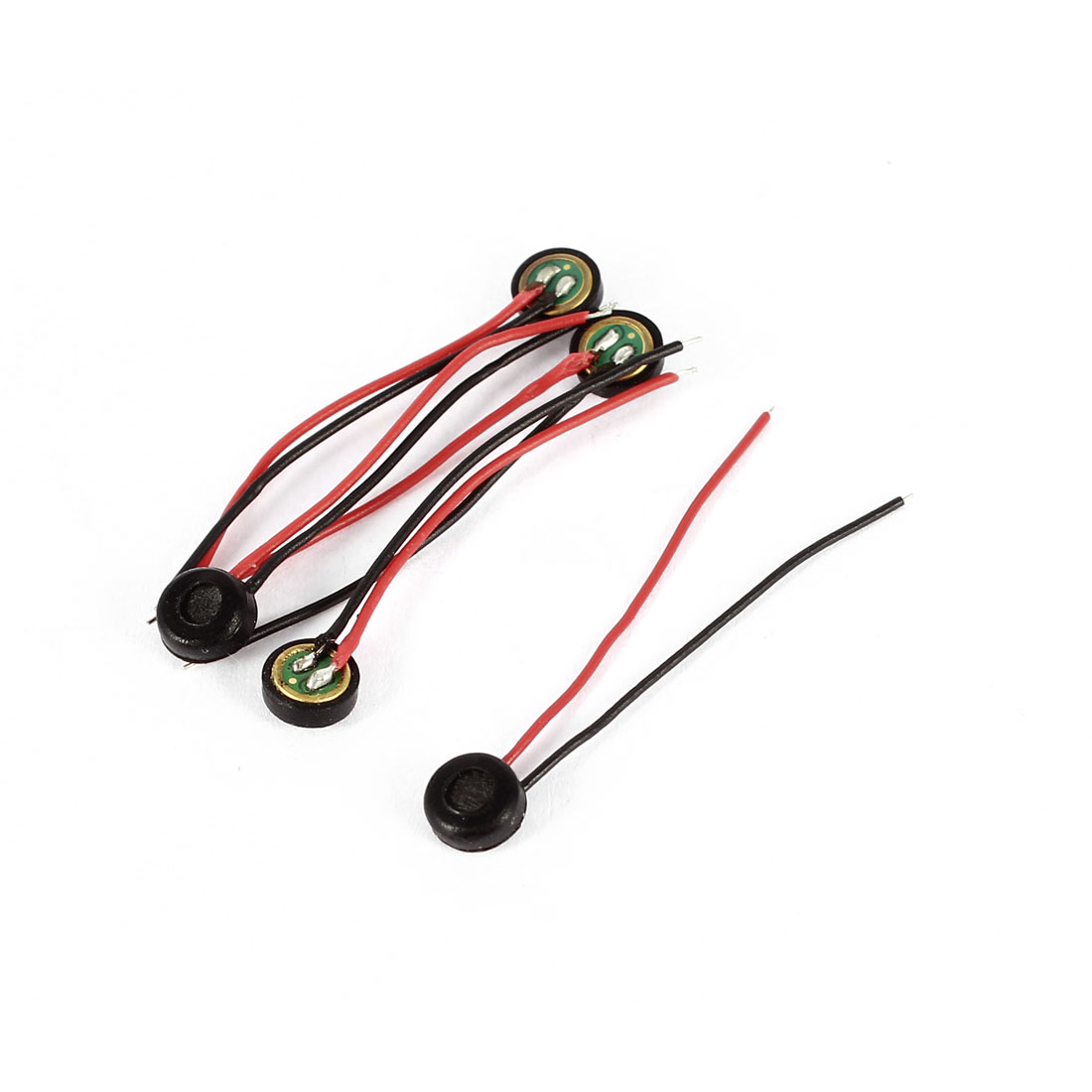5pcs 2.6mm Wire Lead 4mm x 2mm Electret Condenser Microphone Pick-up