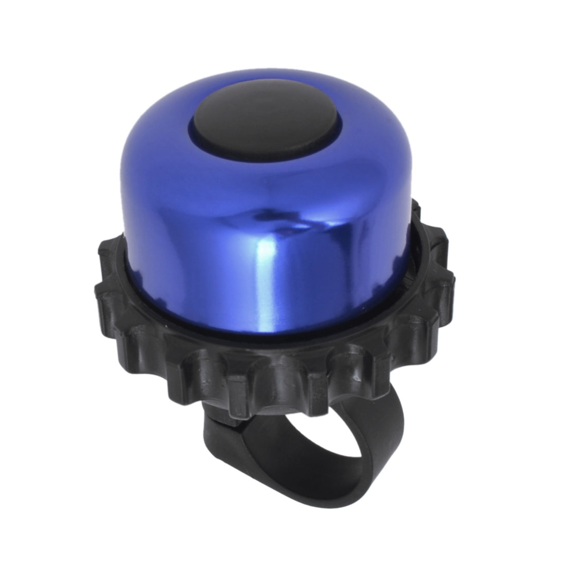 22mm Dia Fixing Hole Black Blue Shell Bicycle Mini Bell