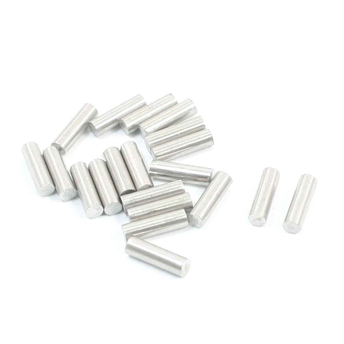 20pcs 10mm x 3mm Stainless Steel DIY Toy Model Drive Connecting Rod