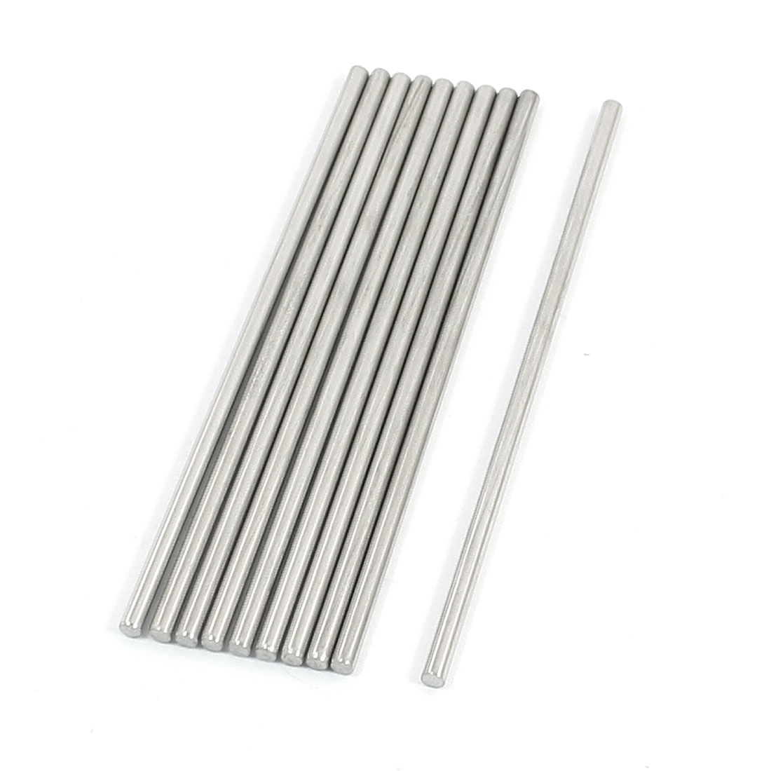 10Pcs Stainless Steel Machinery Parts Component Round Bar 80x2.5mm