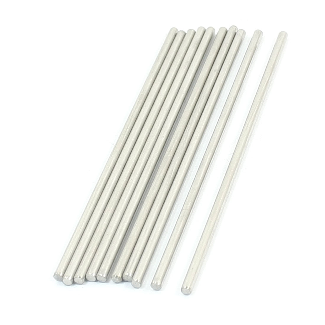 10Pcs RC Helicopter Spare Parts Round Rods Bars 90mm x 2.5mm
