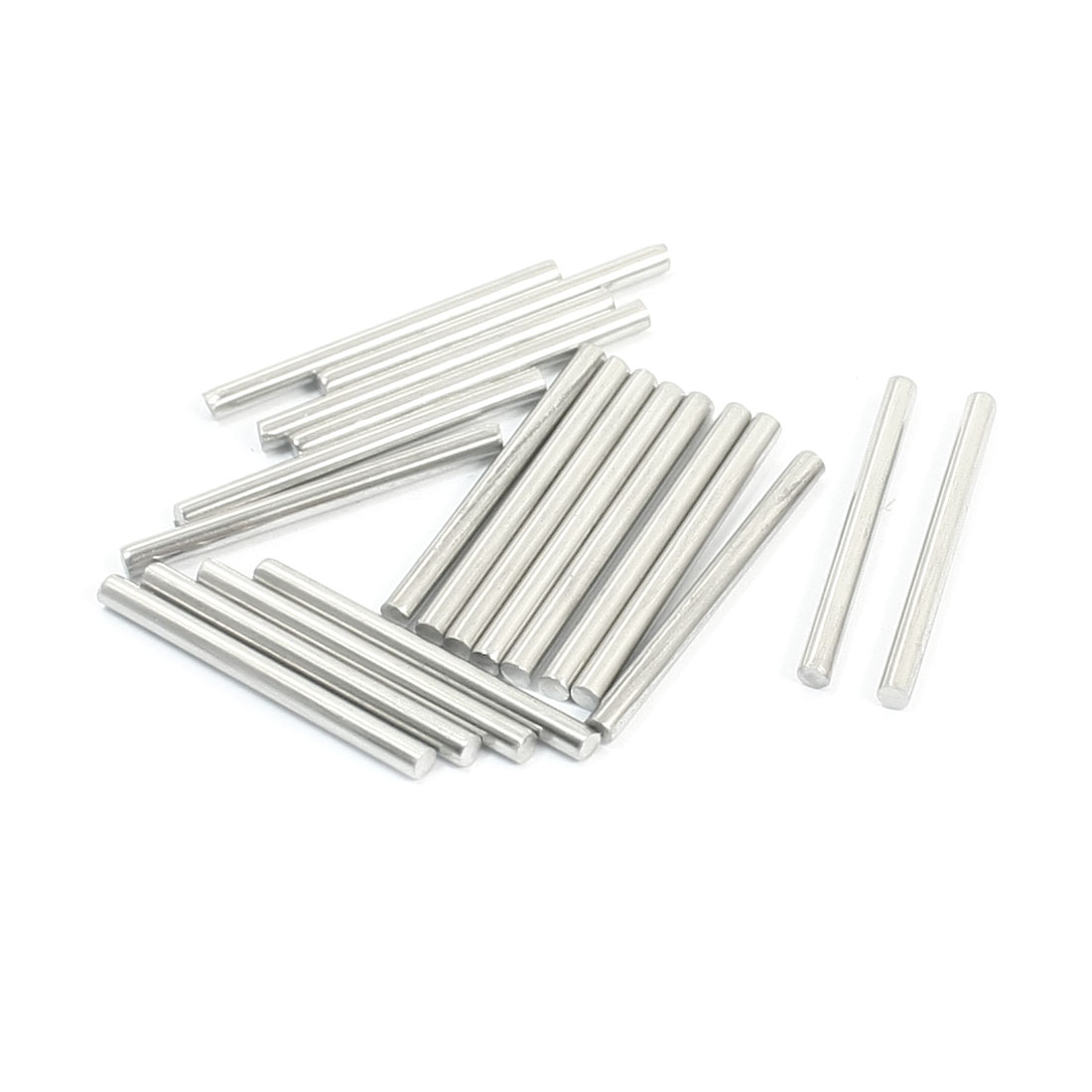 20pcs RC Aircraft Toys Replacement Stainless Steel Round Bar 30x2.5mm
