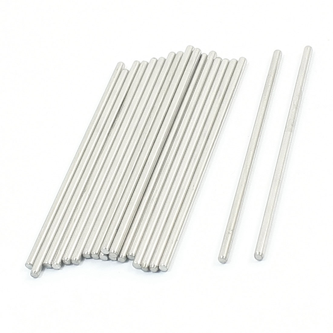 20PCS 60mm x 2mm Stainless Steel Round Rod Axle Bars for RC Toys