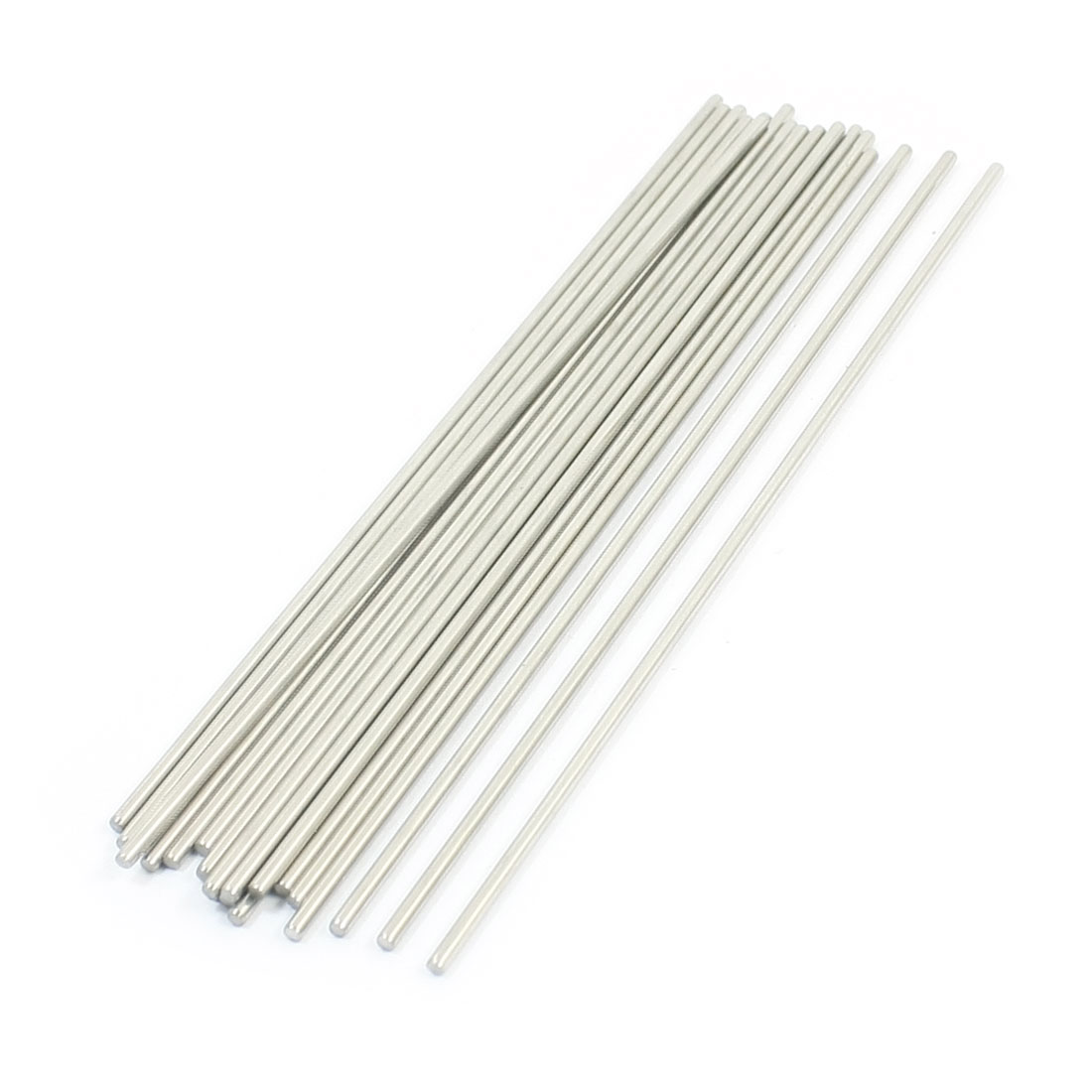 20PCS Stainless Steel 140mm Long 2mm Dia Round Rod Shafts for RC Model