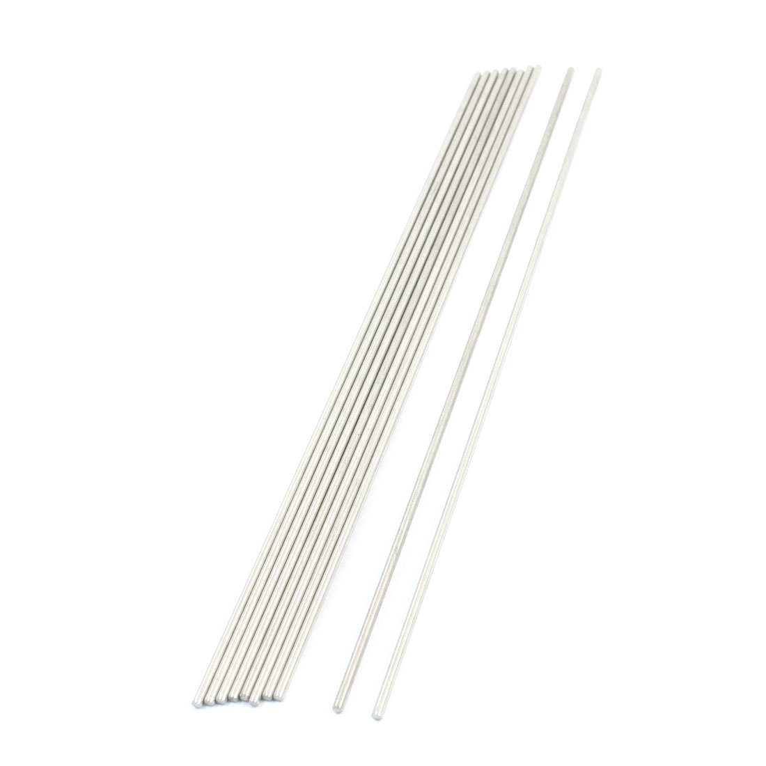 10pcs RC Aircraft Toys Spare Parts Stainless Steel Round Bar 190x2mm