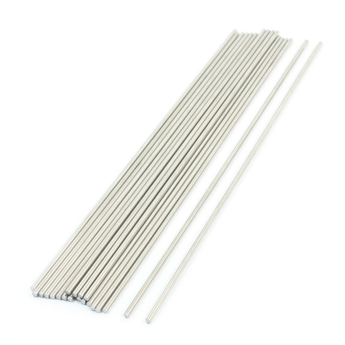 20PCS 170mm x 2mm Stainless Steel Round Rod Axle Bars for RC Toys
