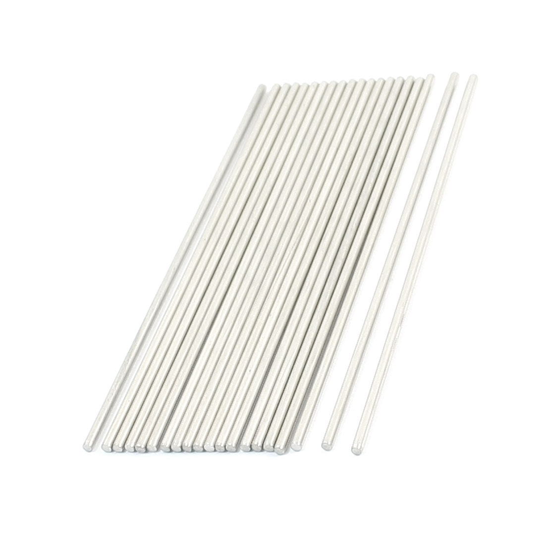 20Pcs Hardware Tool Stainless Steel 100x1.9mm Transmission Round Rods