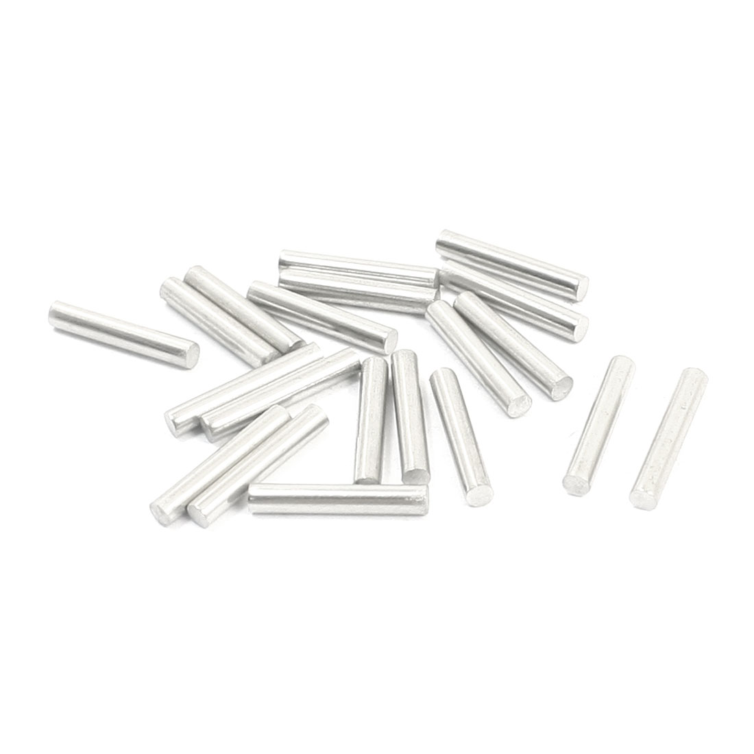 20PCS RC Car Toy Spare Part Stainless Steel Round Bar Shaft 15mmx2.5mm