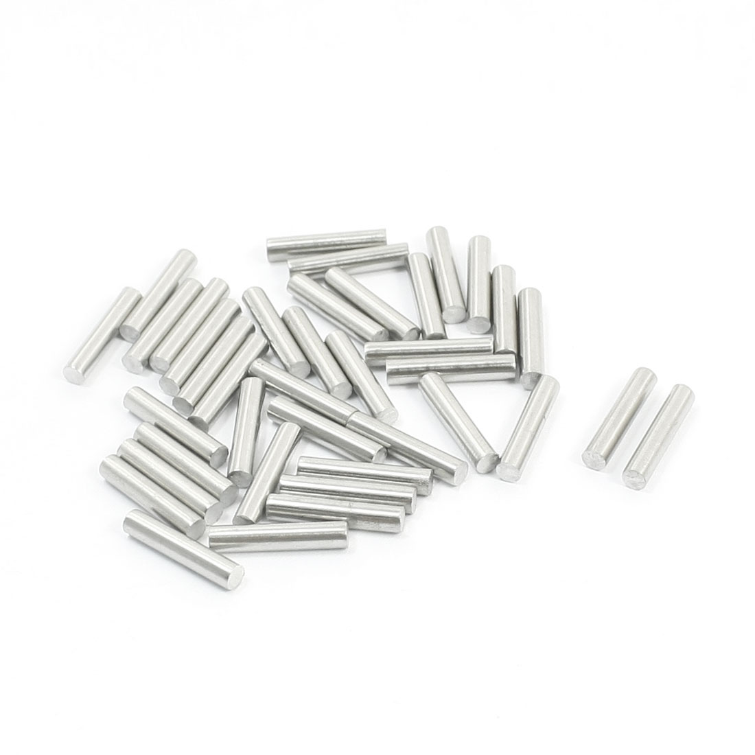 40PCS RC Airplane Parts Stainless Steel Straight Bar Shaft 15mm x 3mm