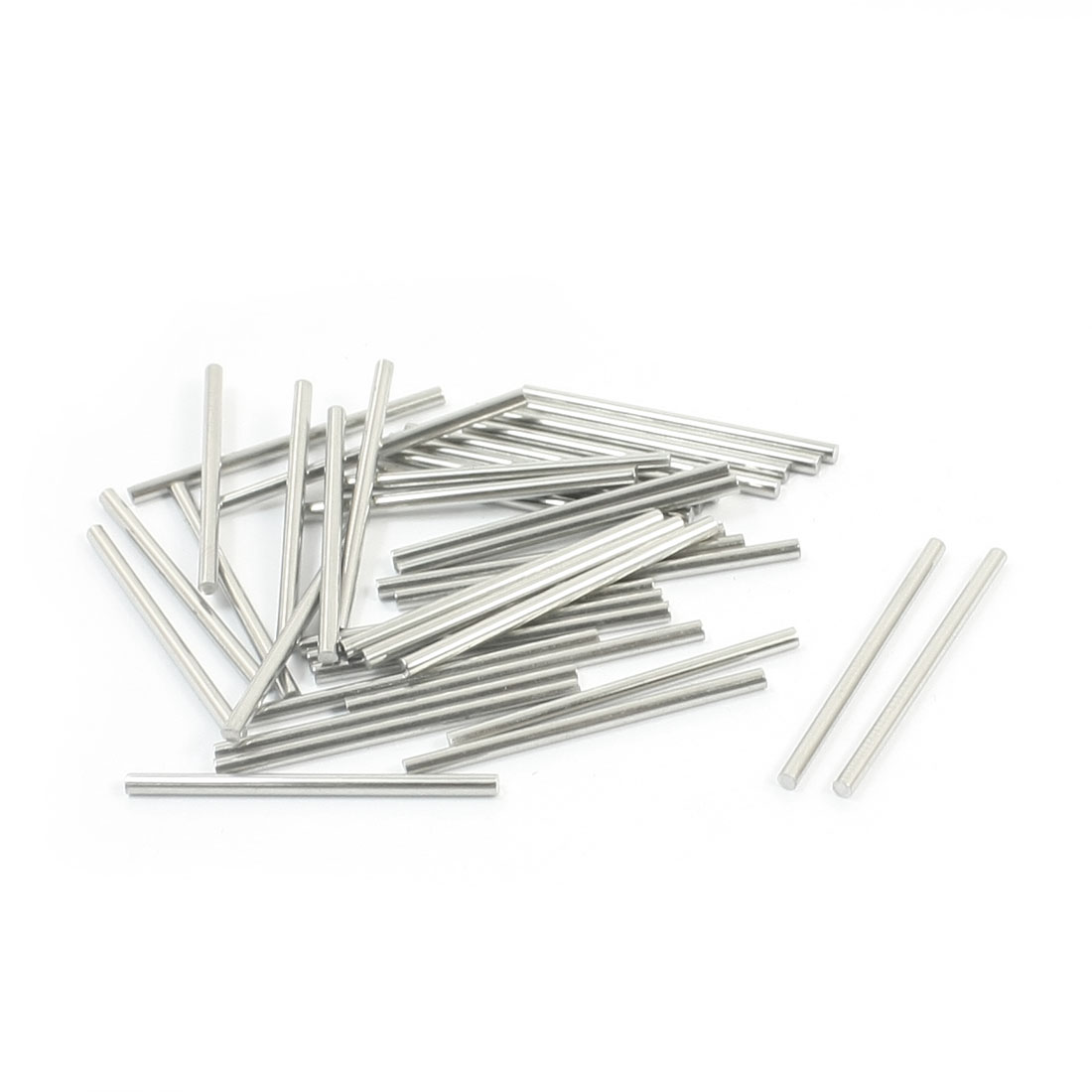 40pcs RC Model Airplane Replacement Stainless Steel Round Bars 35x2mm