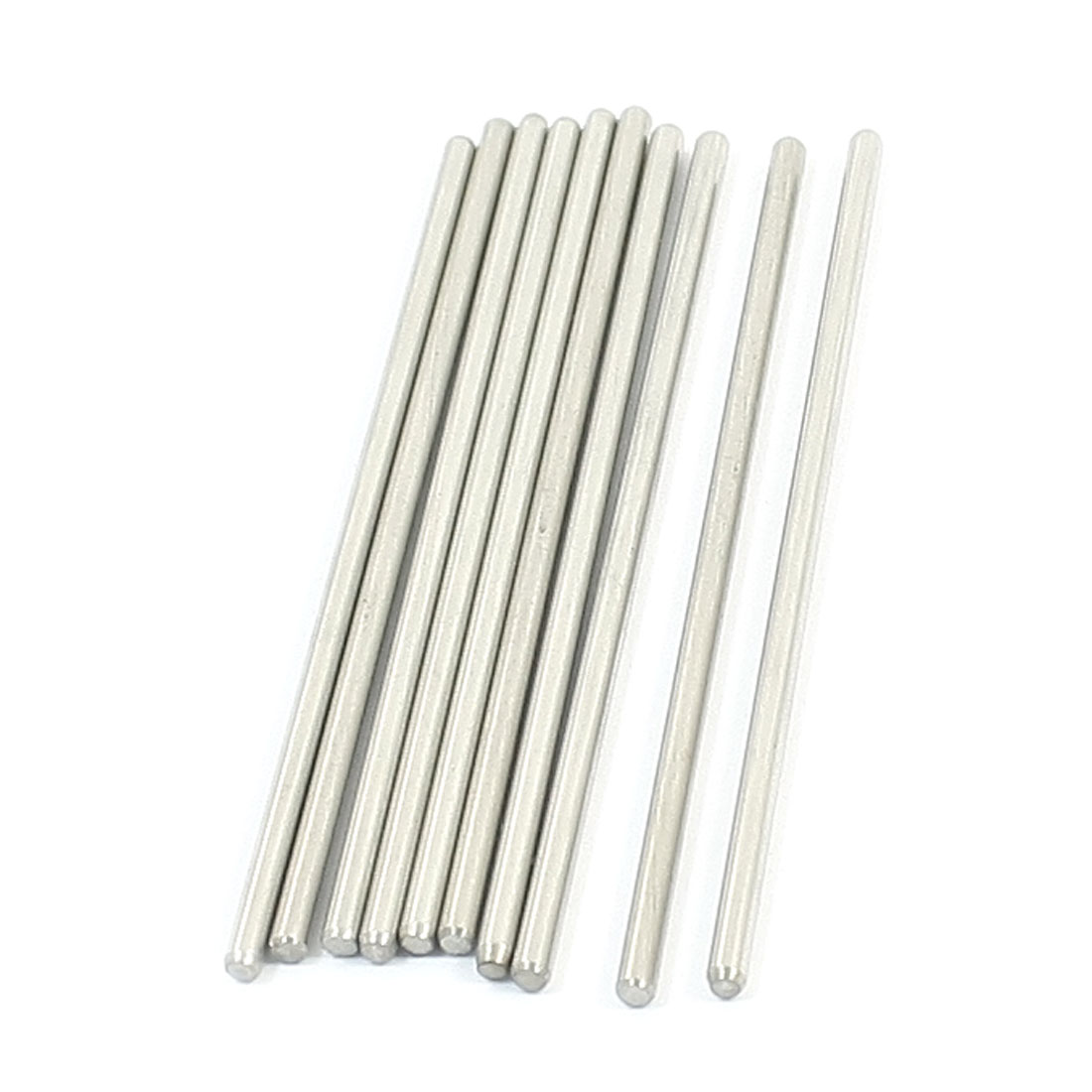 10PCS RC Model Spare Parts Stainless Steel Round Bar Shaft 60mmx2mm