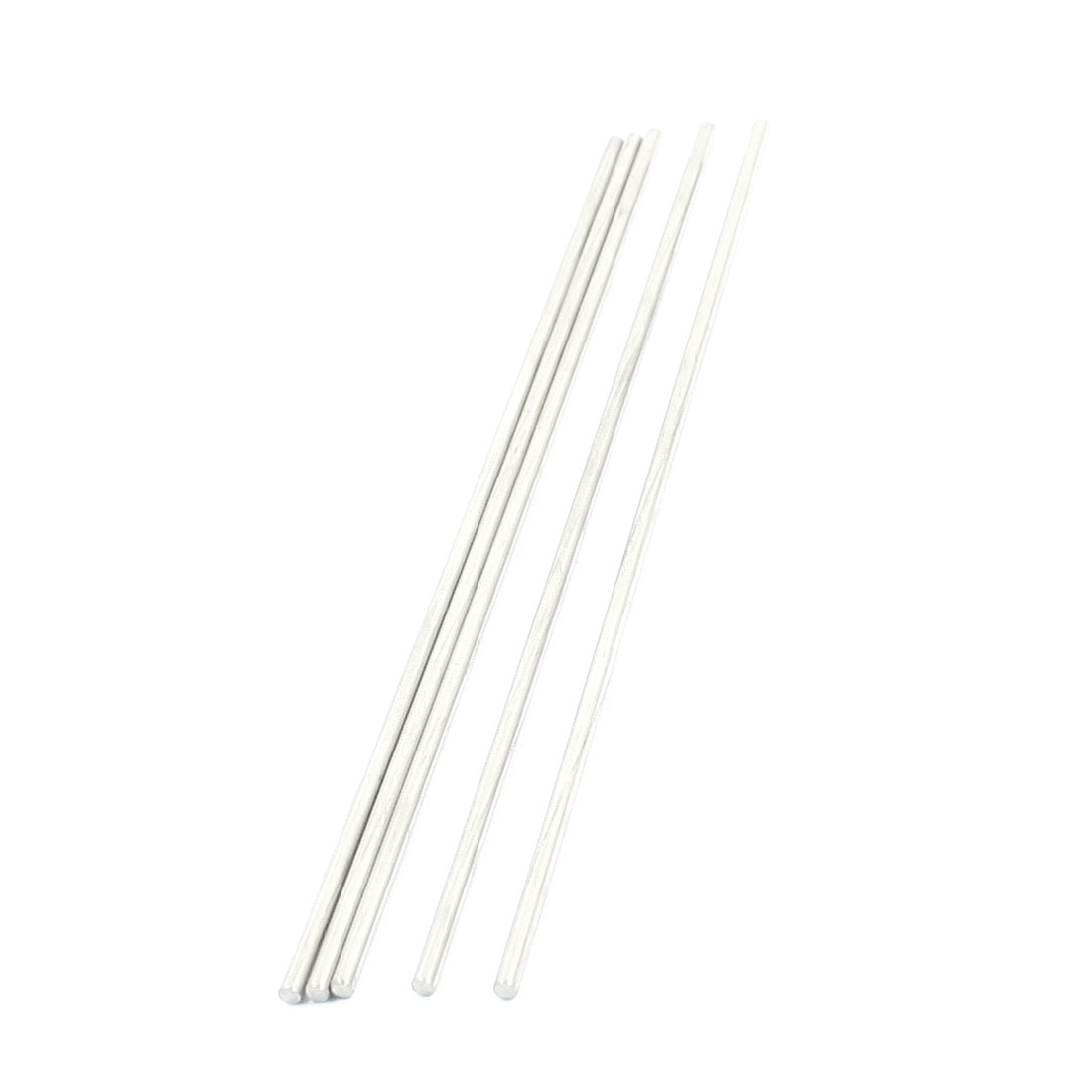 5pcs RC Aircraft Toys Replacement Stainless Steel Round Bar 150x2.5mm