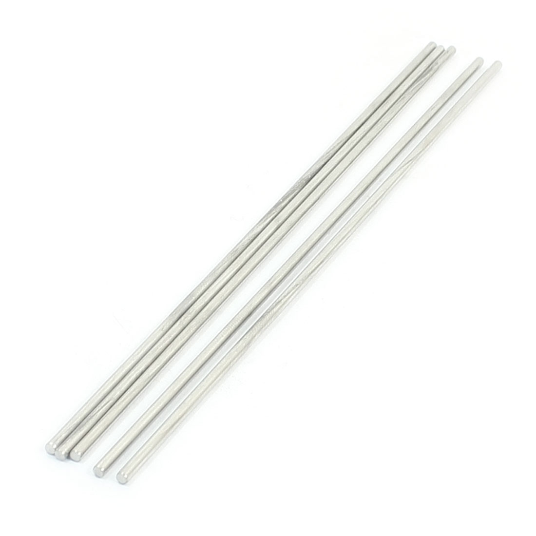 5PCS RC Smart Car Toy Parts Stainless Steel Round Bar Shaft 180mmx2.5mm