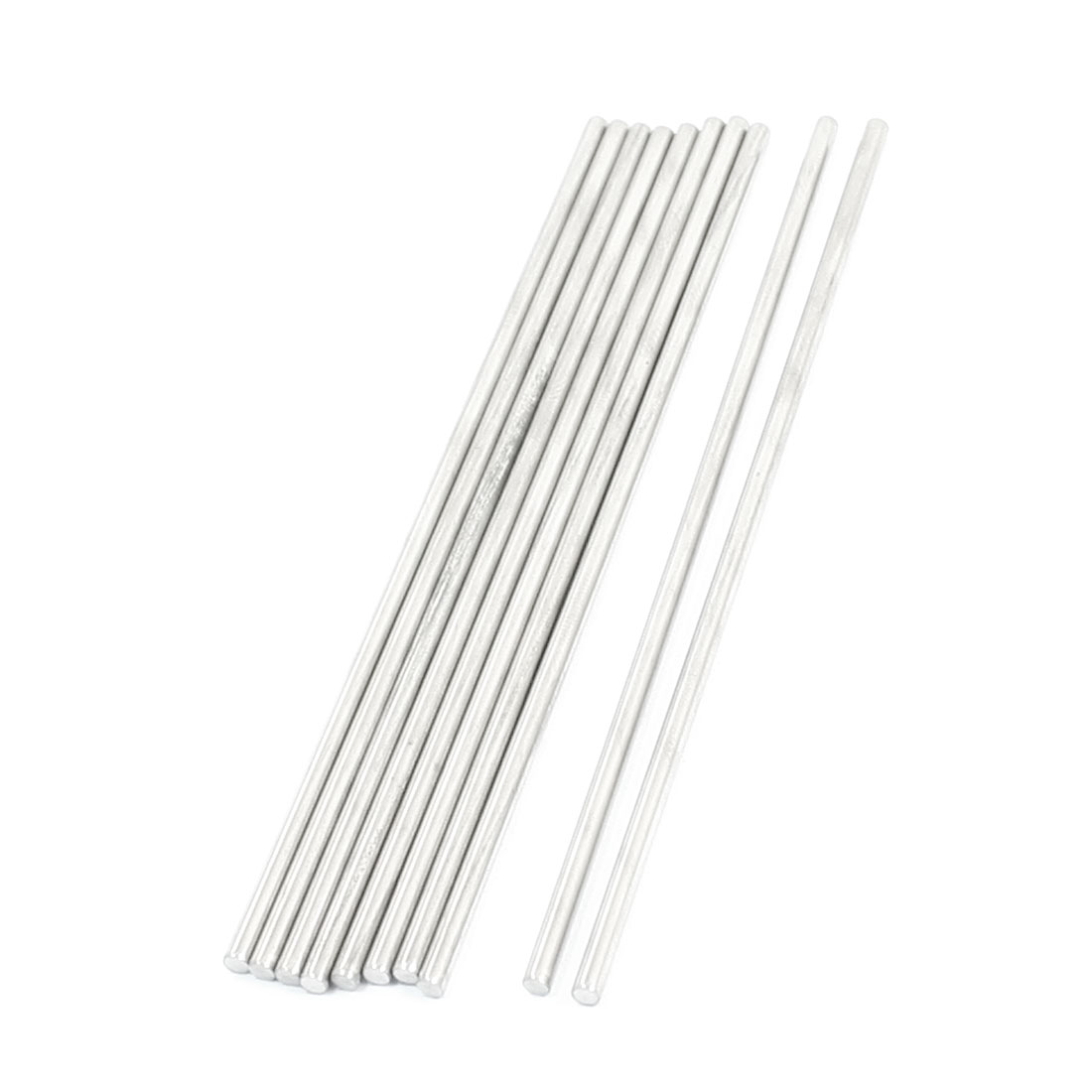 10pcs RC Model Airplane Spare Parts Stainless Steel Round Bar 110 x 2.5mm
