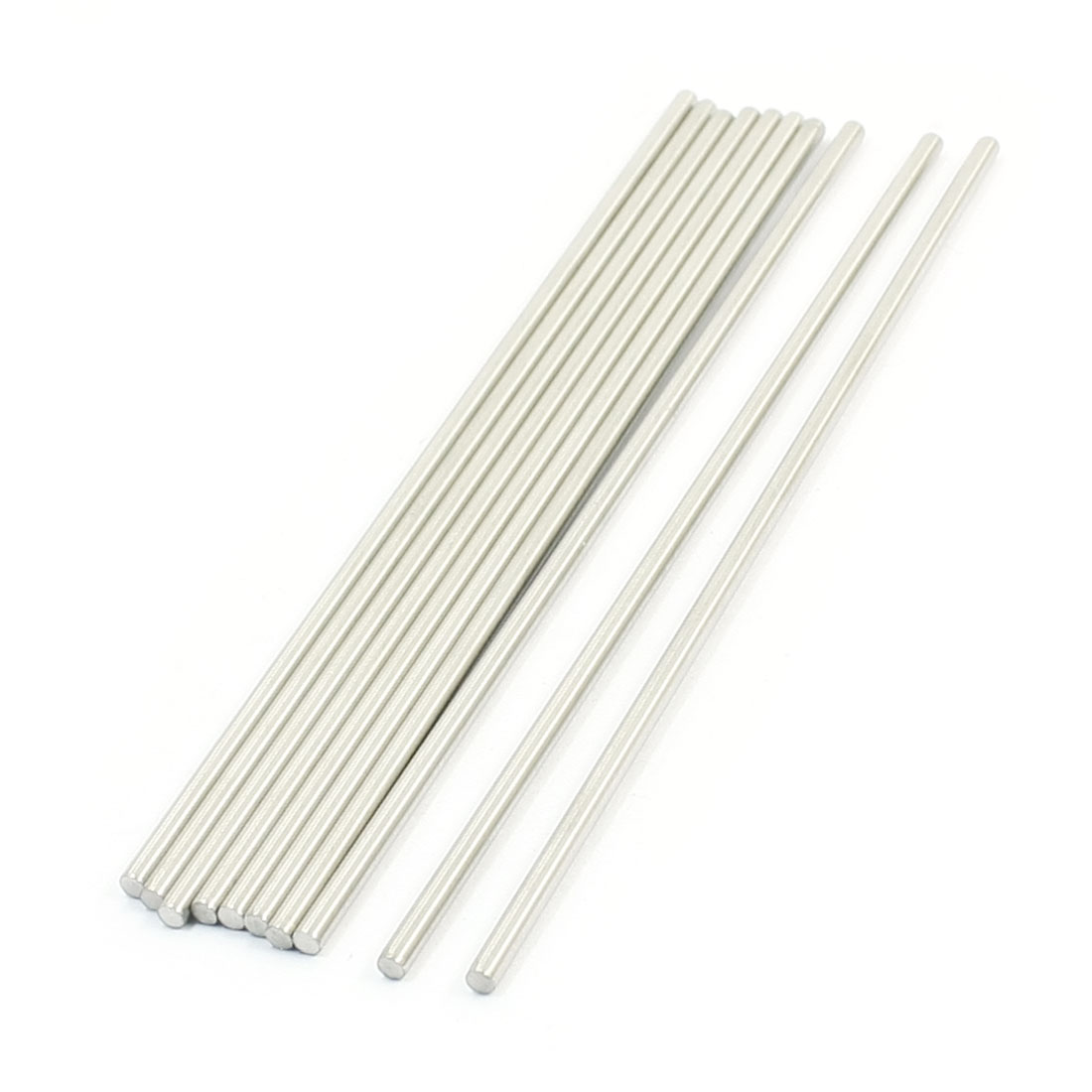 10PCS RC Aircraft Parts Stainless Steel Straight Bar Shaft 140mm x 2.5mm