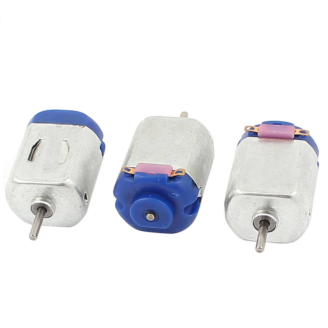 3Pcs DC 3V 16000RPM 2mm Dia Shaft Gearbox Electric Motors